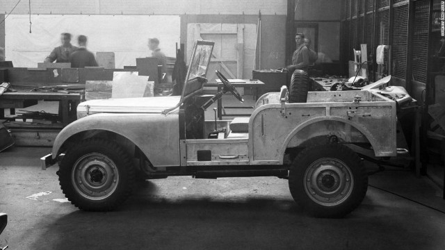 The original Land Rover prototype was built in 1947.