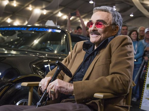 Burt Reynolds at Barrett Jackson