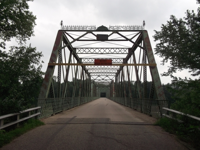 Shawnee Bridge, between Warren and Fountain Counties, IN
