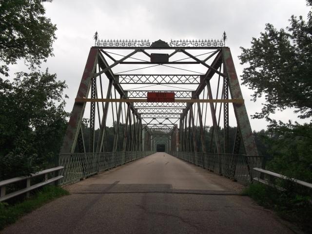 Shawnee Bridge, between Warren and Fountain Counties, IN