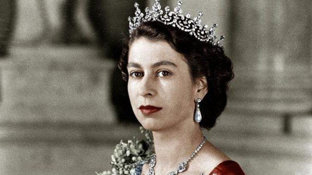 Queen Elizabeth 2nd in 1952