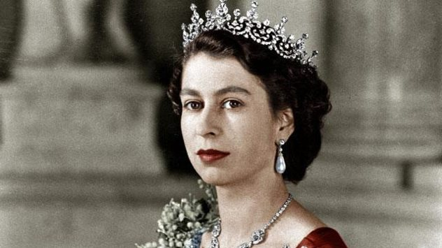 Queen Elizabeth 2nd in 1952