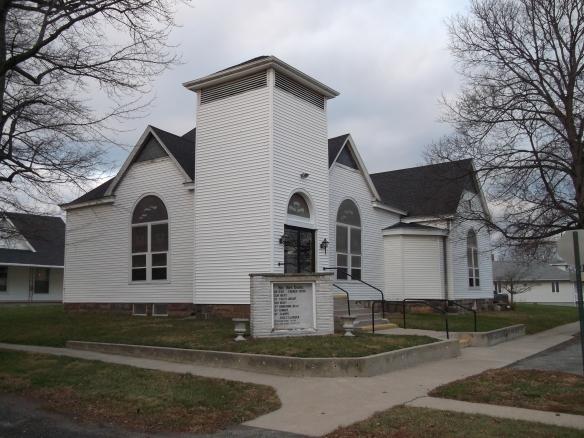 The M.E. Church, in Wingate, IN, November 23rd 2012